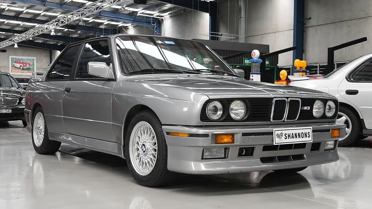 1987 BMW E30 M3 Coupe (LHD) - 2018 Shannons Melbourne Late Summer Classic Auction