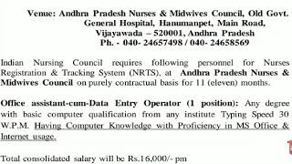 Salary 16000/- DATA ENTRY JOB IN GOVT