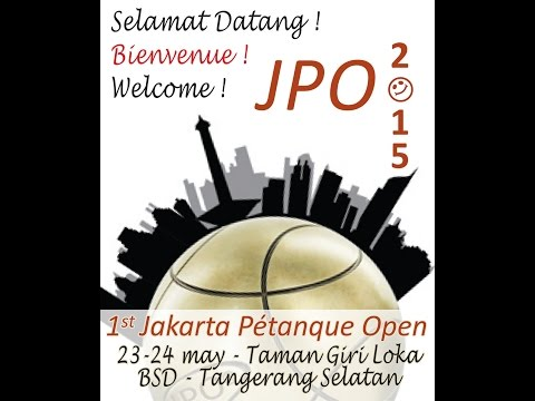 Jakarta Petanque Open JPO 2015