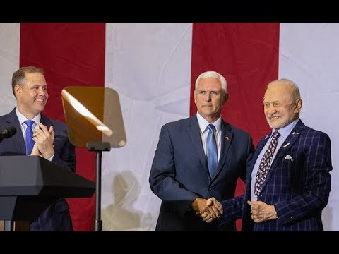Vice President Pence Commemorates Apollo 11 With Administrator Bridenstine
