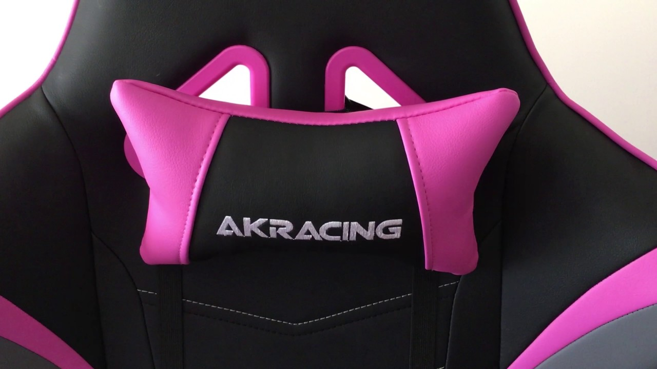 AK RACING PINK OVERTURE GAMING CHAIR