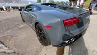 Brand New Lamborghini Gallardo Shows off Front End Lift In Use