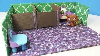 DIY Doll Bathroom Stalls for LPS or MLP