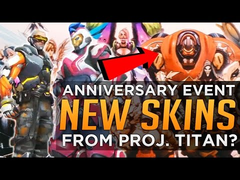 Overwatch: NEW Skins & Voicelines! - TITAN Themed? - Jeff Kaplan Q&A