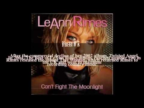 LeAnn Rimes discography Top # 13 Facts