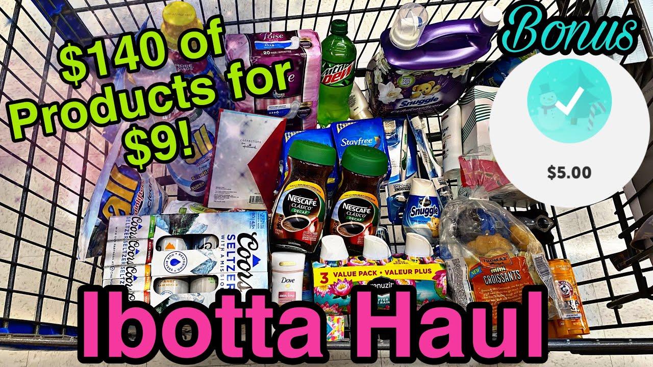 Walmart 2nd Ibotta Haul! Winter Wonderland Bonus Complete
