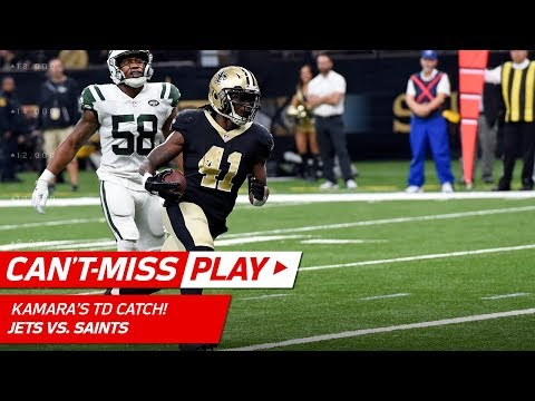Alvin Kamara Makes Huge Plays on TD Drive vs. NY! | Can't-Miss Play | NFL Wk 15 Highlights