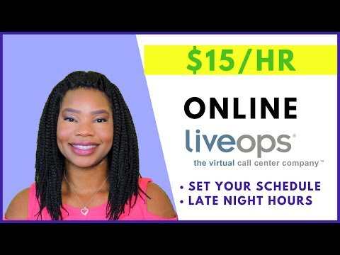 LIVEOPS.COM Is Hiring! $15 Per Hour | Online, Remote Work-At-Home Jobs July 2019