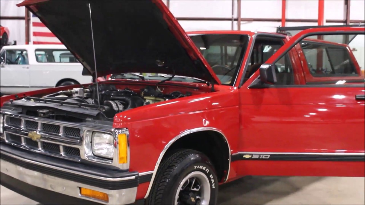 1993 Chevy S10 Red