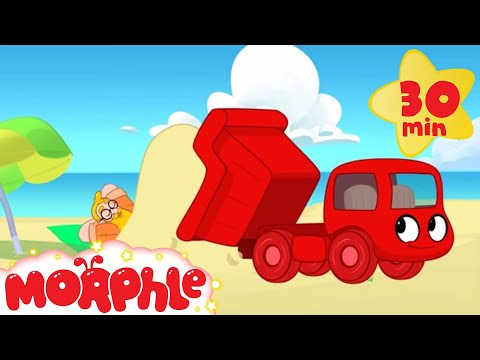 Thumbnail: Dump Truck Video For Kids - My Magic Pet Morphle