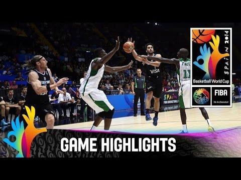 Senegal v Argentina - Game Highlights - Group B - 2014 FIBA Basketball World Cup