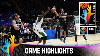 Senegal v Argentina - Game Highlights - Group B - 2014 FIBA Basketball World Cup