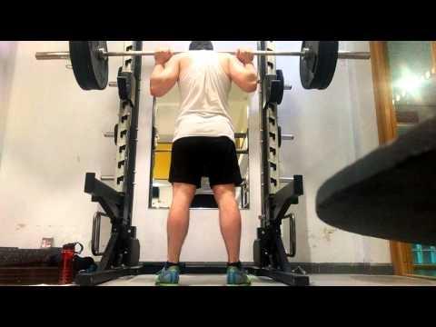 Pause Squat 140kg