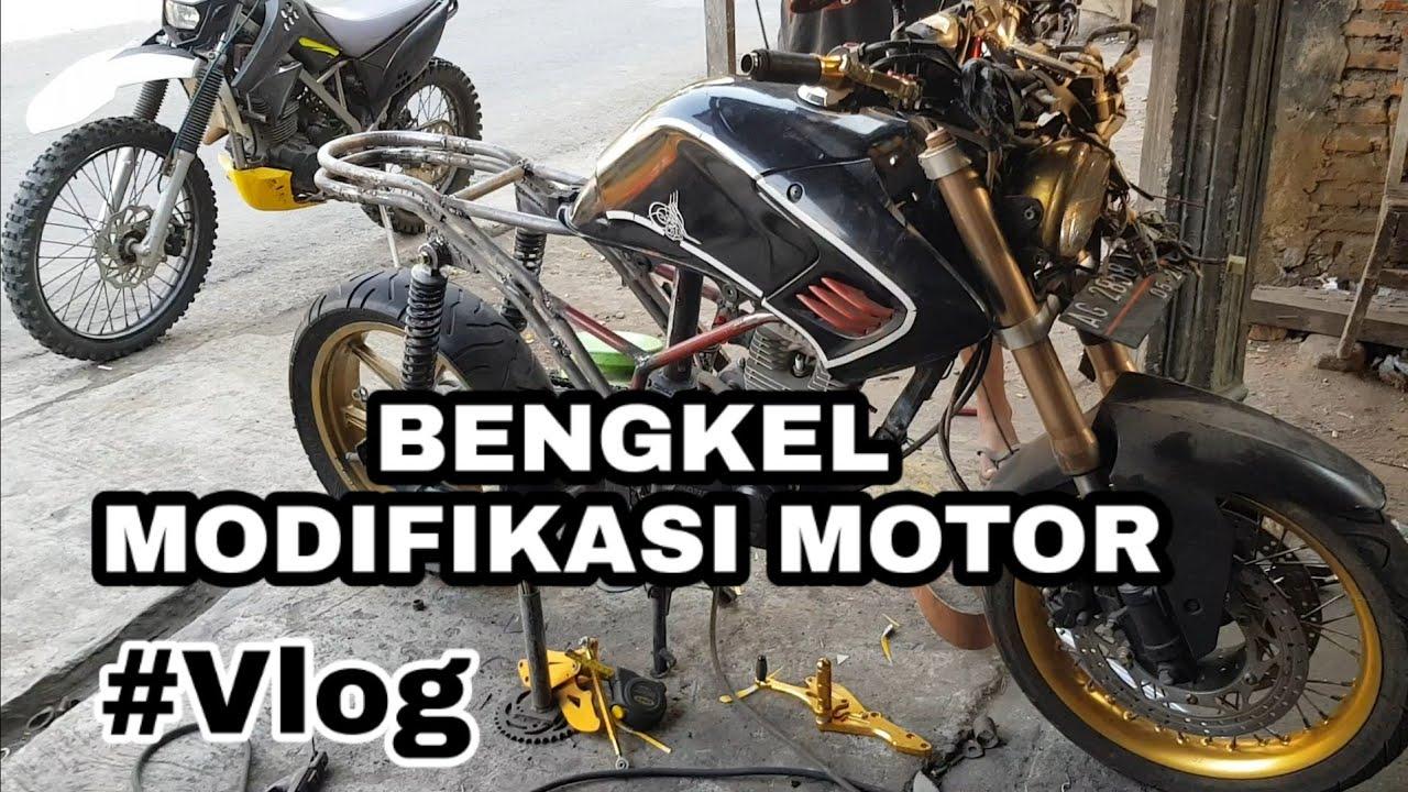 Bengkel Modifikasi Motor Trail & Custom Gotri Garage Joso