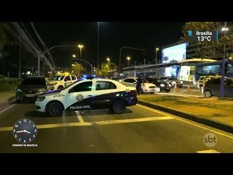 Professor morre baleado em tentativa de assalto na Barra da Tijuca | SBT Notícias (15/08/18)