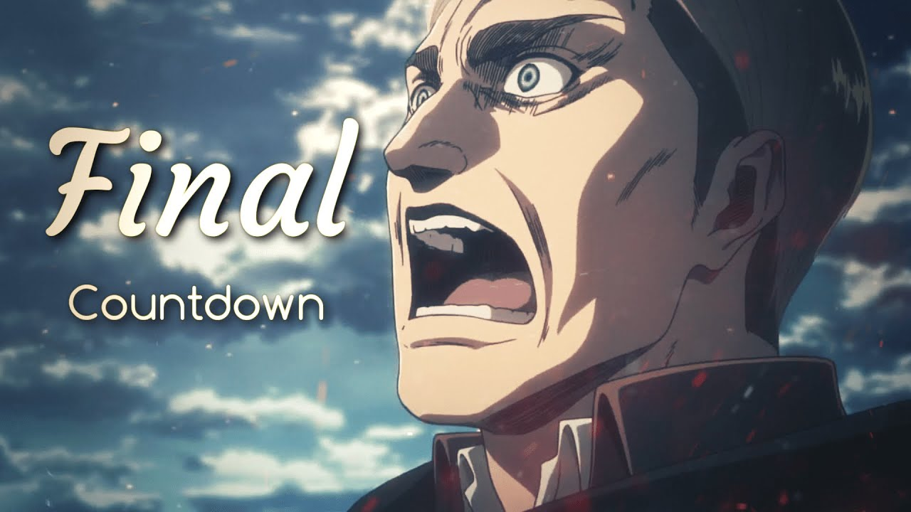 Attack On Titan「AMV」- The Final Countdown - YouTube