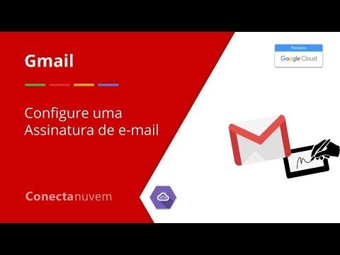 Como configurar a assinatura de e-mail do Gmail