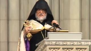 Truth To Power: Aram I's National Cathedral Sermon Before VP Biden Demands Genocide Justice