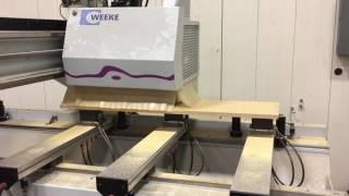 Weeke Optimat BHC 250 CNC Machining Center, Used, Stock #57100 - RT Machine Co.