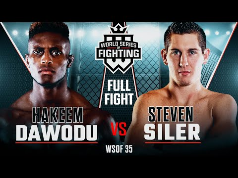 #WSOF35: Hakeem Dawodu vs Steven Siler Full Fight