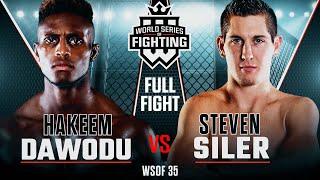#WSOF35: Hakeem Dawodu vs Steven Siler Full Fight