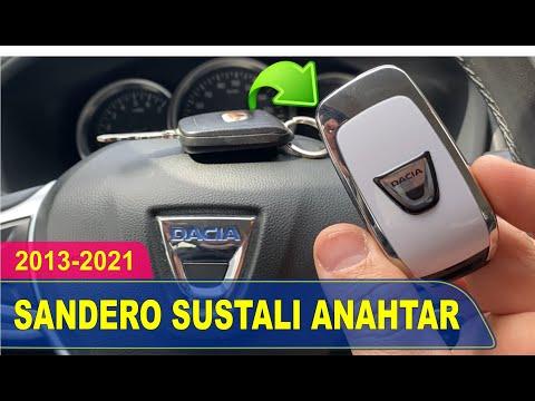 Dacia Sandero Stepway Anahtar Yapımı | Yedek Kopyalama - Oto Anahtarcı İstanbul