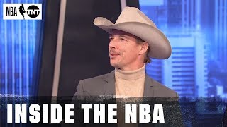 Diplo Knows How To Read A Room  | NBA on TNT