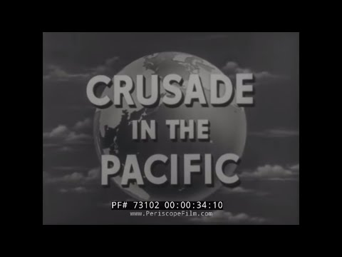 """CRUSADE IN THE PACIFIC TV SHOW Episode 13  """"SPEEDING UP THE ATTACK: THE MARSHALLS"""" 73102"""