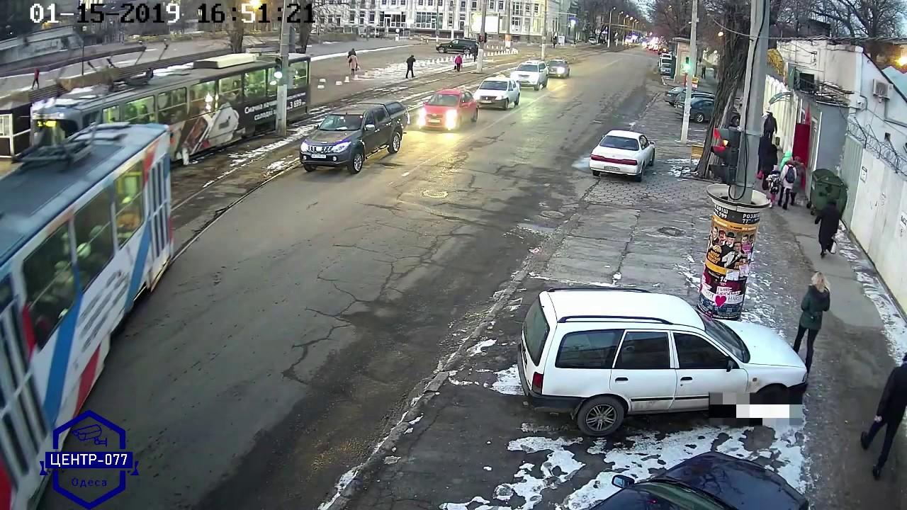 Трамвай - с... опасный! (В. Галыгин