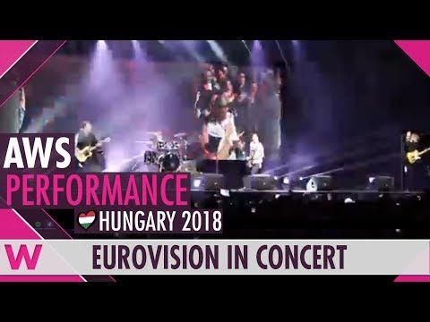 "AWS ""Viszlát nyár"" (Hungary 2018) LIVE @ Eurovision in Concert 2018"