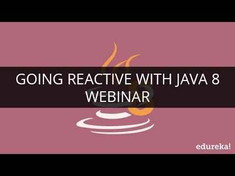 going-reactive-with-java-8-|-webinar--1-|-edureka
