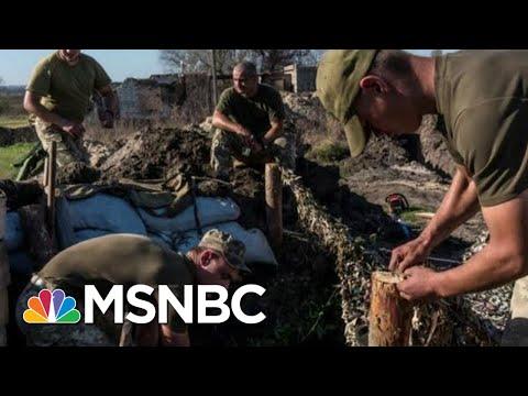 Amid Trump Impeachment, Ukraine Struggles To Fight Back Russian Aggression | The 11th Hour | MSNBC