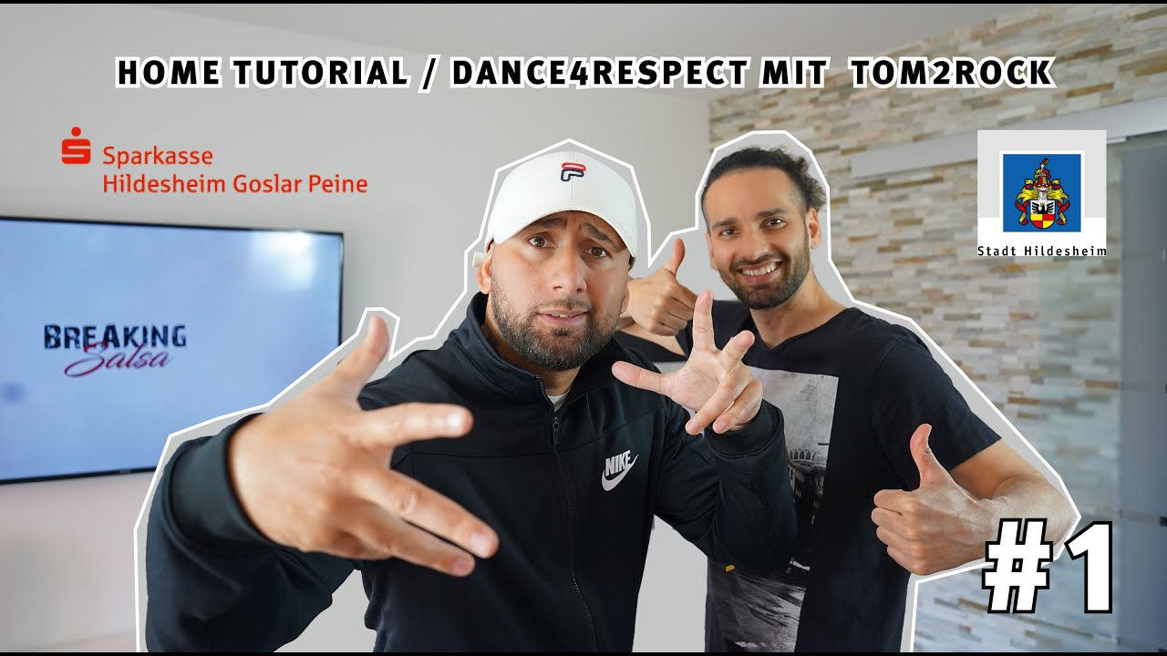 Home Tutorial Dance4Respect | Tom2Rock