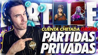 🔴If You WIN I GIVE YOU FORTNITE'S CHETADA ACCOUNT *FREE* PRIVATE PARTIES with SUBSCRIBERS