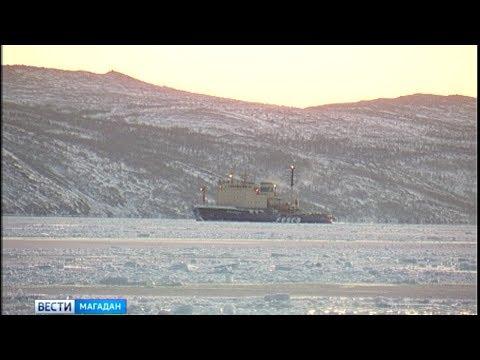 Экипаж ледокола «Магадан» отметили за добросовестный и многолетний труд