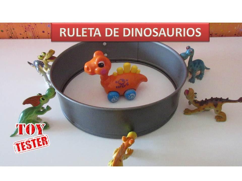 Niños Ruleta Para Español Dinosaurios De JugueteVídeos En odxBerCW