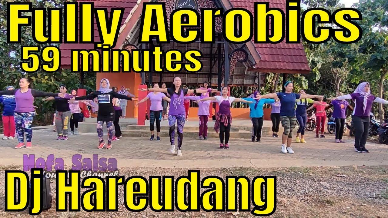 Senam Aerobik dirumah untuk pemula efektif membakar lemak tubuh l Aerobic Nofa Salsa