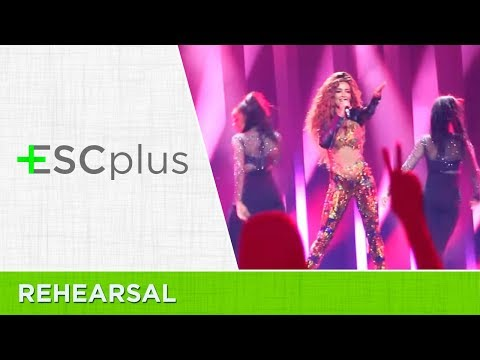 Eurovision 2018: Eleni Foureira - Fuego (Cyprus) | Semi-Final 1 - 1st Dress Rehearsal