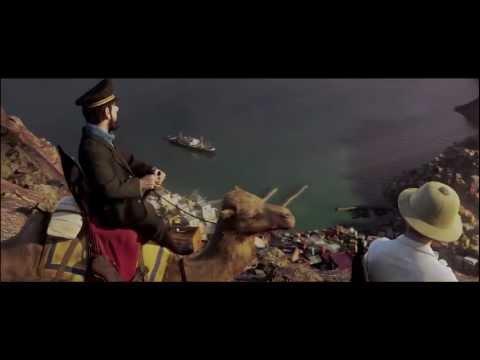 Trailer do filme As Aventuras de Tintim