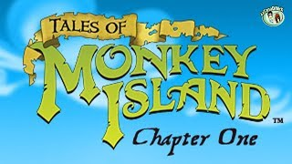 Tales of Monkey Island Chapter 1 - Launch of the Screaming Narwhal 100% [HD]