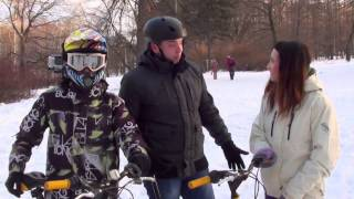 Тест-драйв зимних велосипедов K-Trak(15.12.2013. Тест-драйв зимних велосипедов системы K-Trak, которые появились этой зимой в Snegohod-ville парка Сокольники...., 2014-01-21T06:16:53.000Z)