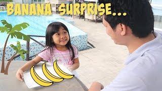 A BANANA SURPRISE!