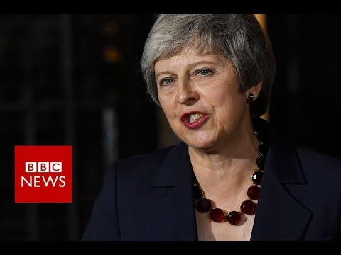 Theresa May: Cabinet has backed draft Brexit plan – BBC News