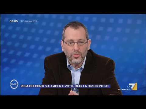 Direzione PD, Formigli: Paese da una parte, il Partito Democratico dall'altra