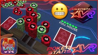PokerStars VR ⭐️ Pokertainment #4: Full House Crash ♥️♣️♦️♠️