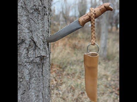 Нож Для Охоты И Рыбалки. Нож Своими Руками