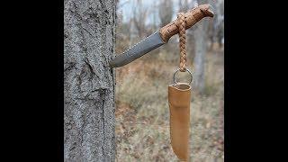 как сделать нож для охоты своими руками