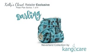 Off to Neverland with Kelly's Closet & Kanga Care Cloth Diapers