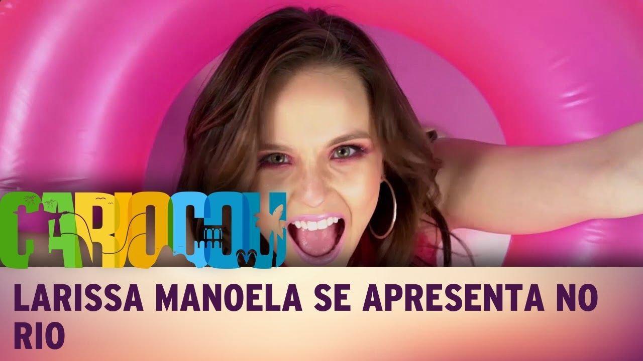8b1fafe206e17 Larissa Manoela se apresenta em Niterói - YouTube