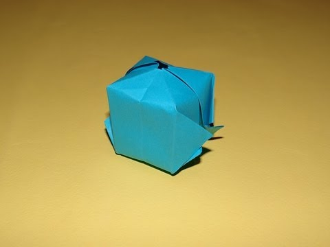 how to make an origami balloon youtube